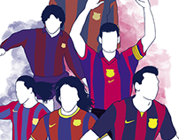 Infografía FC Barcelona 2014