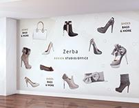 Fashion wall - Zerba