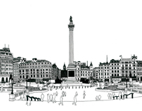 London: landmark illustrations
