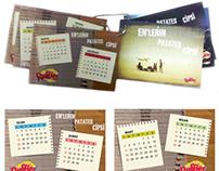 Ruffles - Promotion Calendar