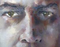 green eyes'