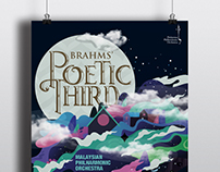 MALAYSIAN PHILHARMONIC ORCHESTRA Concert Poster