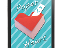 Paper Heart App Project for Seventeen Magazine