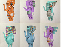 Design elephant sculpture 2016