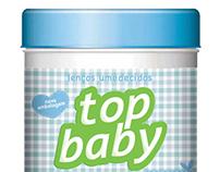 Lenço Umedecido Top Baby