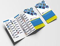Catalogue Design A4 12x18 Z-Fold