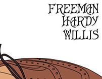 Freeman, Hardy, Willis.