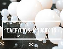 everydays. january 16