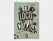 Theater Poster - El loco y la camisa