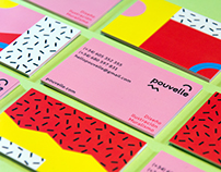 Pouvelle Business Cards