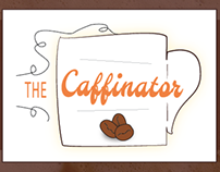 The Caffinator: a webcomic