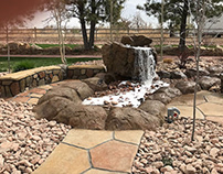 Cultured stone and natural stone veneer