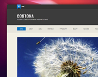 Cortona is Elegant Flexible and Responsive WP Theme