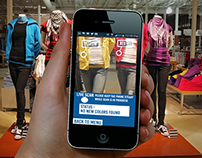 Colorama Augmented Reality App UI Design