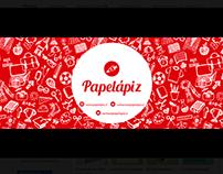 Banner facebook Papelápiz