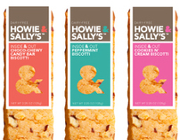 Howie & Sally's Branding and Packaging