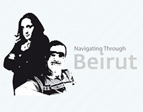 Navigating Through Beirut | Infographic Map