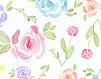Romantic Flower Pattern