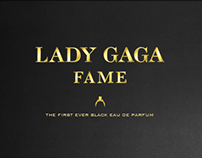 Lady Gaga // Fame Perfume Website