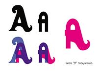 -Mezcla tipográfica-