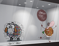 Oilily Eid Al Adha Window Stickers