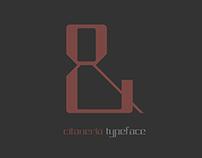 Citaneria - typeface