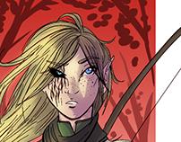 Character Portrait: Half Elf Ranger