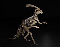 Parasaurolophus Full Cgi.
