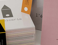 identity for a signage and color design studio