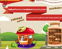 Reklam5 Socialbakers Infographic