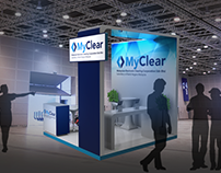 MyClear Booth Stand