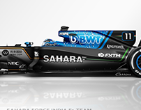 2018 Sahara Force India F1 Team | Concept Liveries