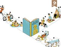 Penguin Book Change Direction Print Campaign