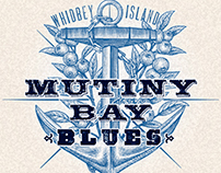 Mutiny Bay Blues Logomark illustrated by Steven Noble