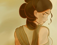 Rey - Force Awakens Fan Art