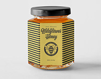 Busy Bee Farms Honey Packaging