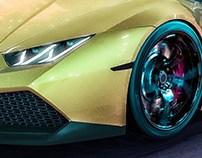 Lamborghini Huracan - CGI Render 3D