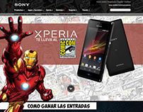Sony Xperia parallax
