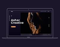 Asher - Creative Portfolio