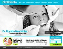 Oral estudio web design & Branding
