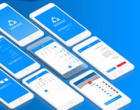 Online Meetings App Design Concept