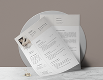 ANA — Resume Template