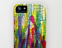 graphic I phone cases