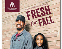 Fresh for Fall: WTAMU Bookstore Catalog