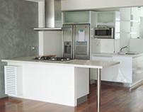 Apartment 2 - Interior & Furniture Design - Lima,Peru