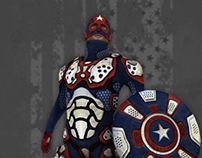 Captain America - Game Character