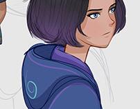 parkour character design 41