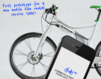 SMART Bikes – Mobile Bike Rental Service