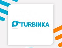 Turbinka.com.ua logo design by #NazarVasylyshyn