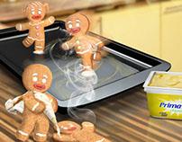 """Margarina Primavera """"Dale vida a la Navidad"""""""